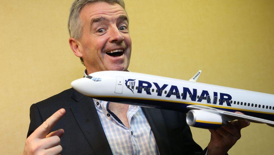 Michael O'Leary: Der Ryanair-Chef ist als Lautsprecher bekannt