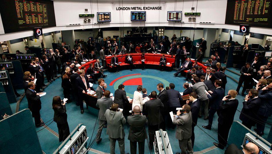 Handelssaal der Londoner Börse: Ringen um attraktive Börsenkandidaten