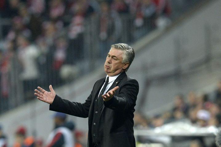 Real-Trainer Ancelotti: Mutig gegen die Münchner