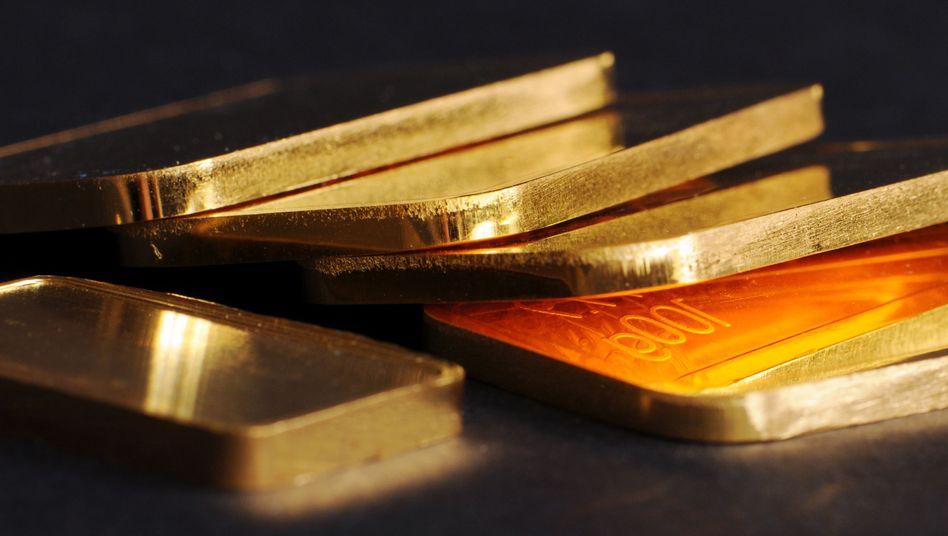Goldbarren: Es glänzt so schön