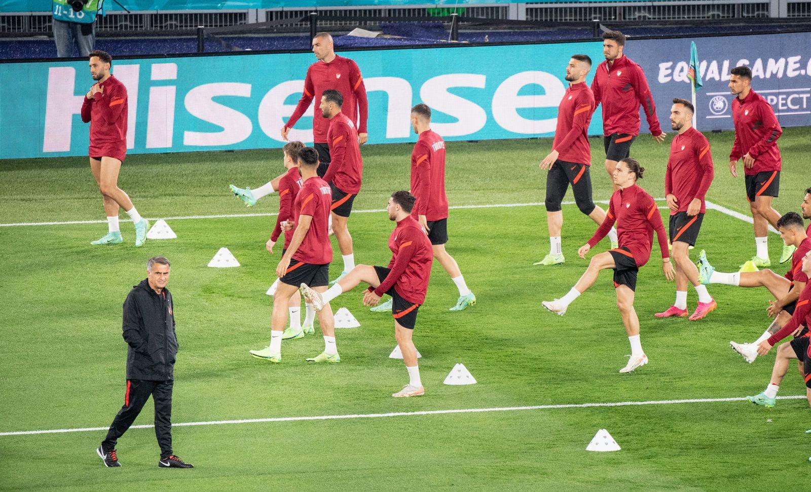 Fußball EM - Training Türkei