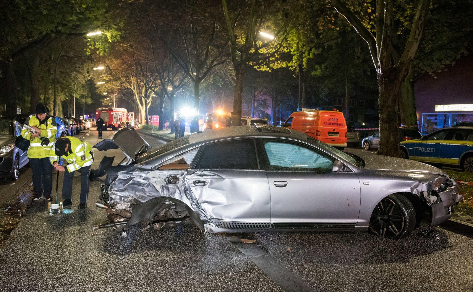 Autorennen / Unfall / Hamburg