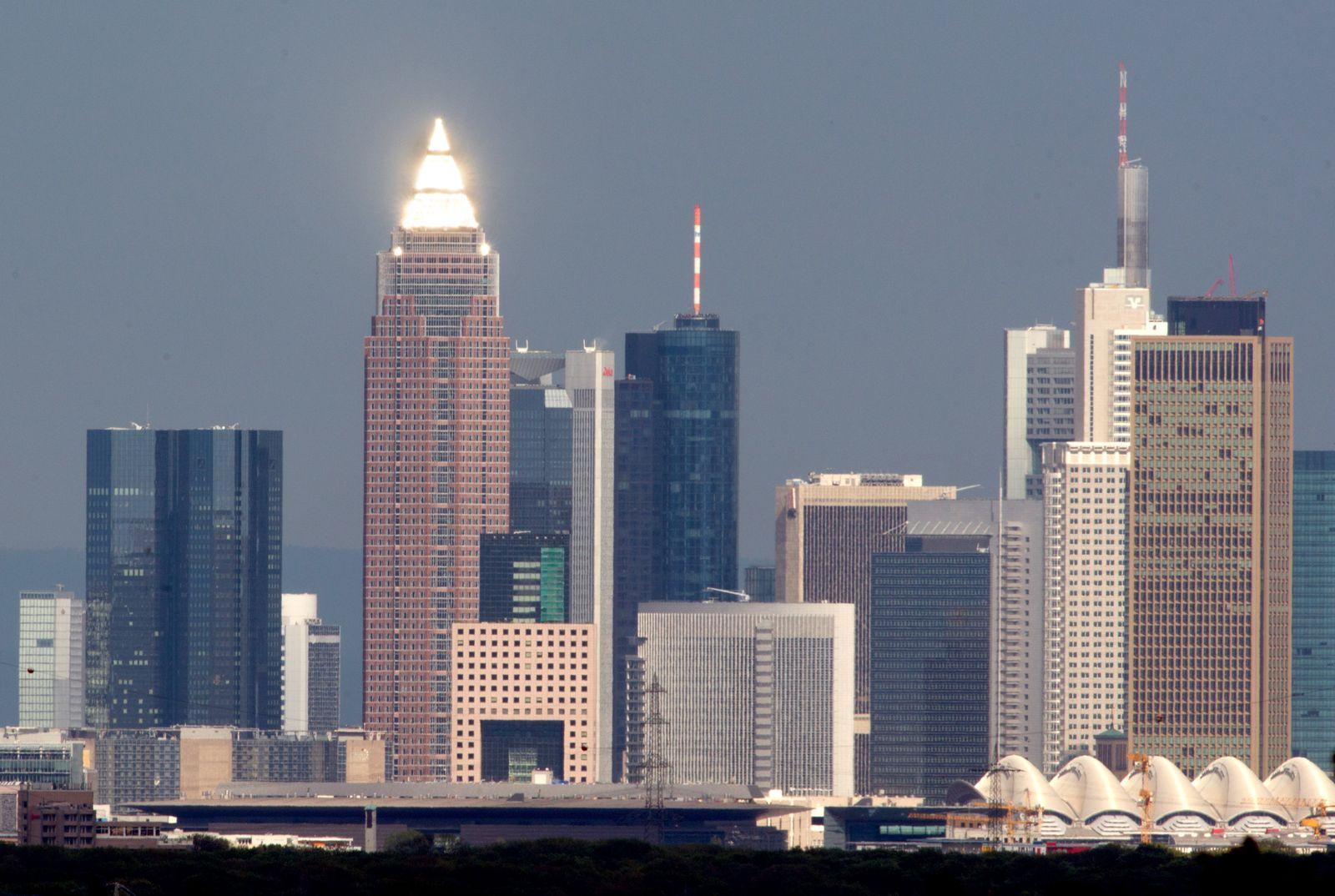 Banken-Skyline Frankfurt