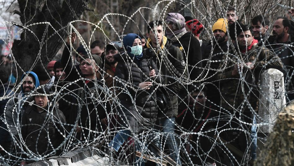 Griechisch-türkische Grenze bei Kastanies: Die EU macht dicht