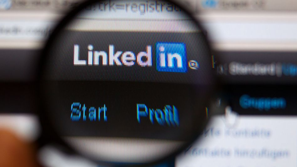"""Officials at LinkedIn say they """"would not authorize such activity for any purpose""""."""