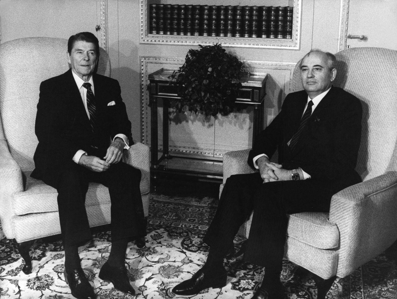 Reagan / Gorbatschow