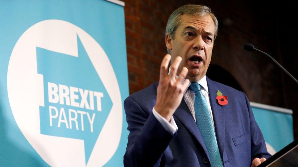 """Nigel Farage: """"Wenn wir scheitern, ist der Brexit vorbei"""""""
