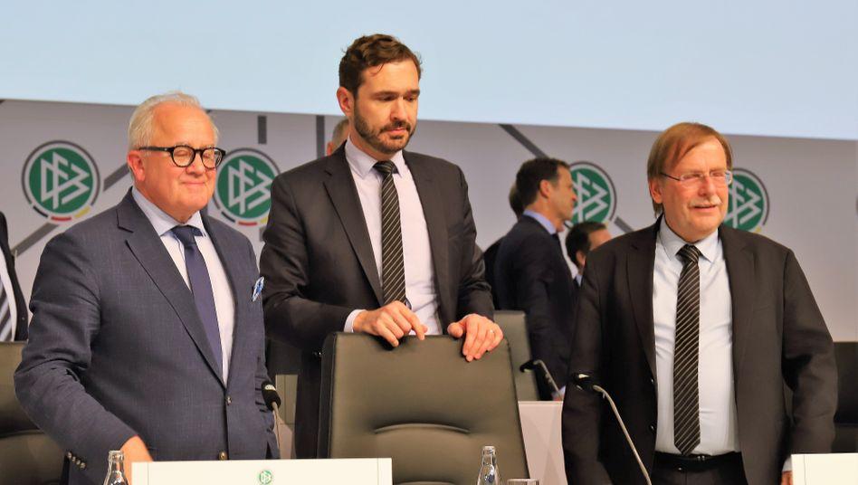 Keller, Curtius, Koch: Tabula rasa beim DFB – weil die Sponsoren mächtig Druck machten?