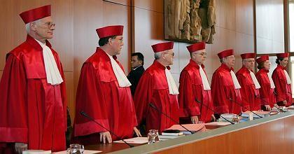 Die Richter des Zweiten Senats: Einstimmiges Urteil