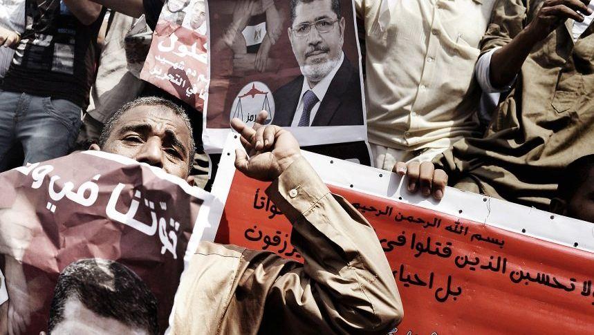Mursi-Unterstützer nach dem Wahlsieg 2012 in Kairo