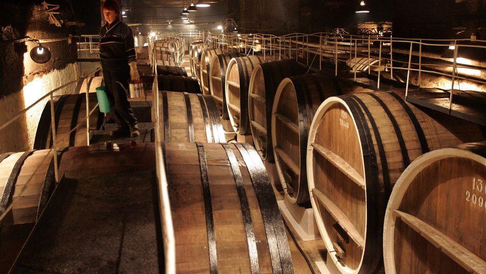 Weinhersteller in der Krim-Stadt Inkerman (Archivbild): EU-Import verboten