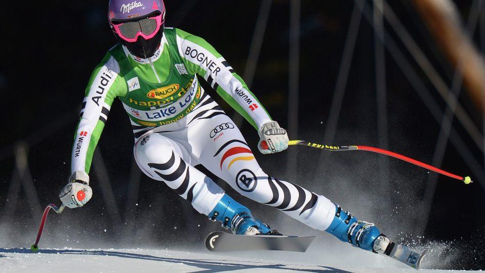 Ski-Rennläuferin Höfl-Riesch: Platz 19 im Super G