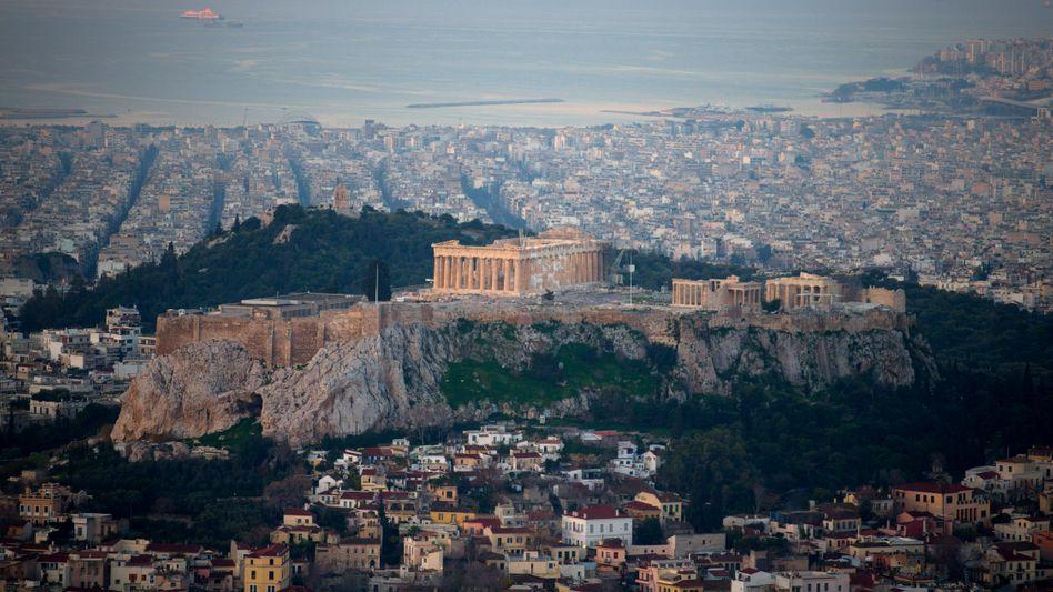 Die griechische Regierung fordert Reparationszahlungen von Deutschland