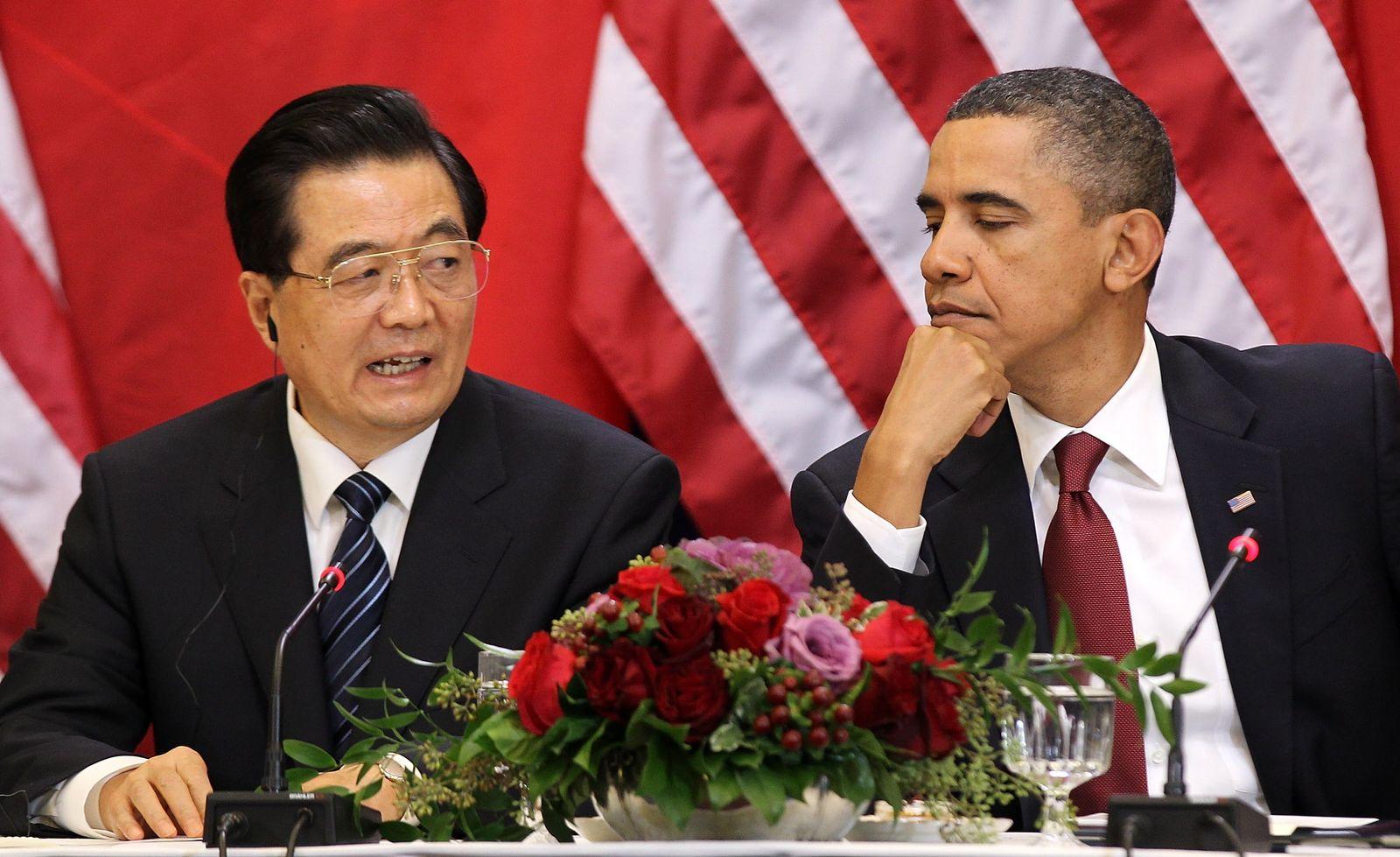 Obama/ Hu