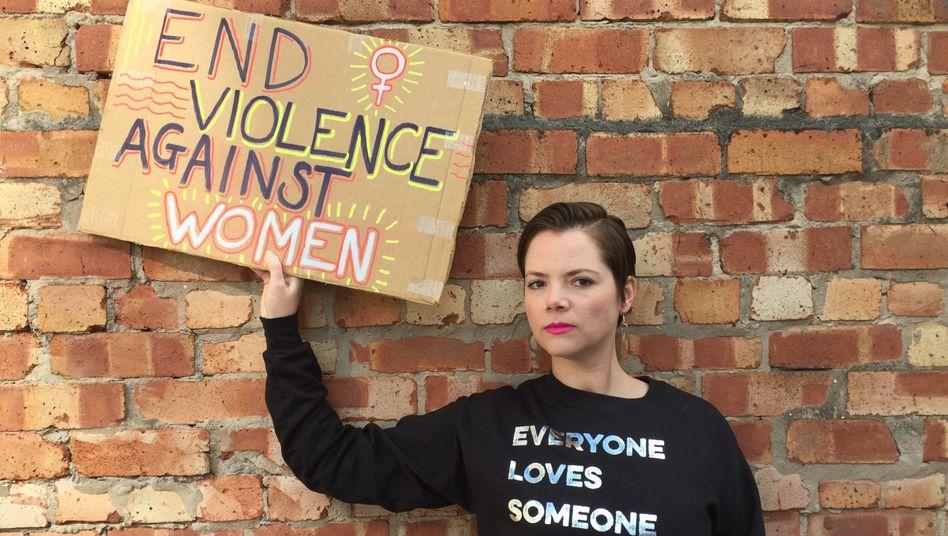 »Jeder soll sehen, was in Malta passiert«, sagt die feministische Aktivistin Liza Caruana-Finkel