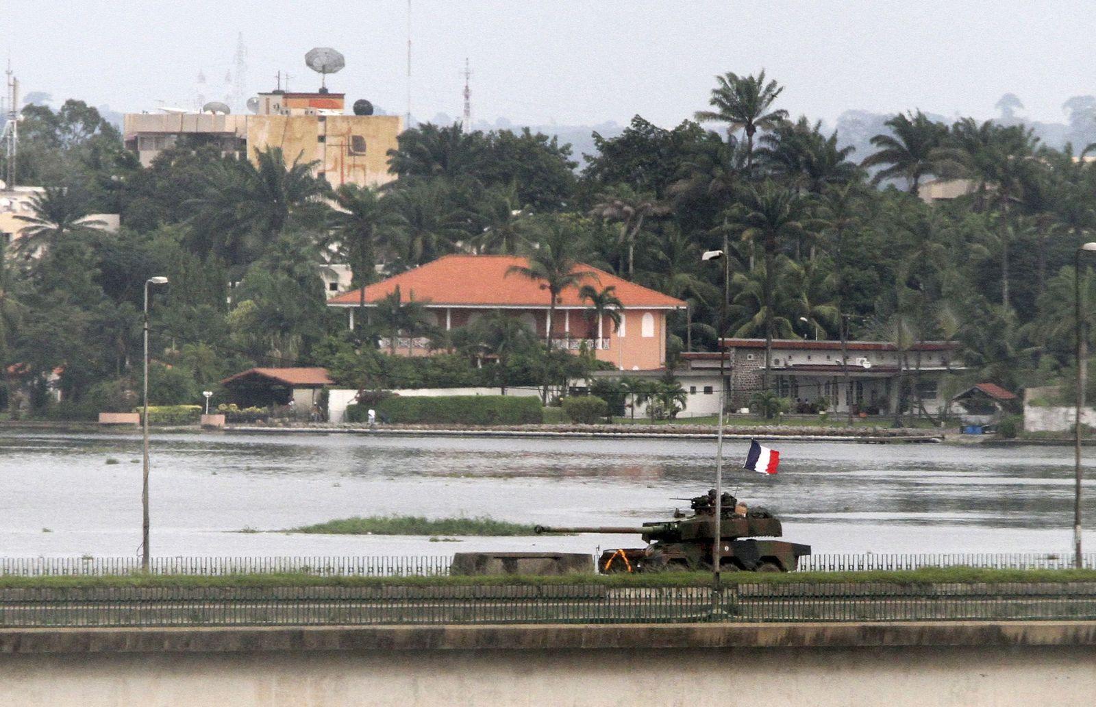 Elfenbeinküste/ Franzosen