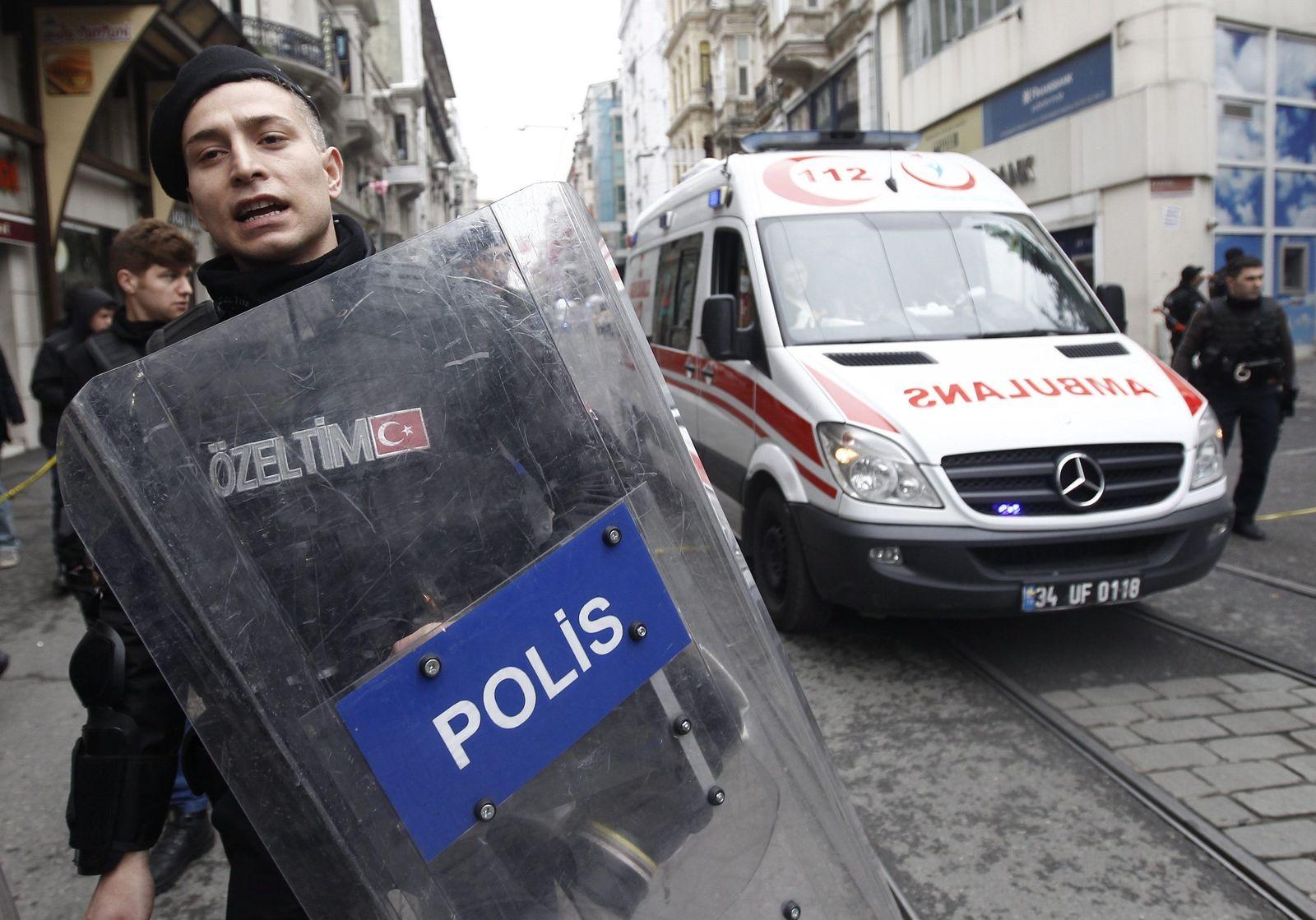 Istanbul/ Anschlag