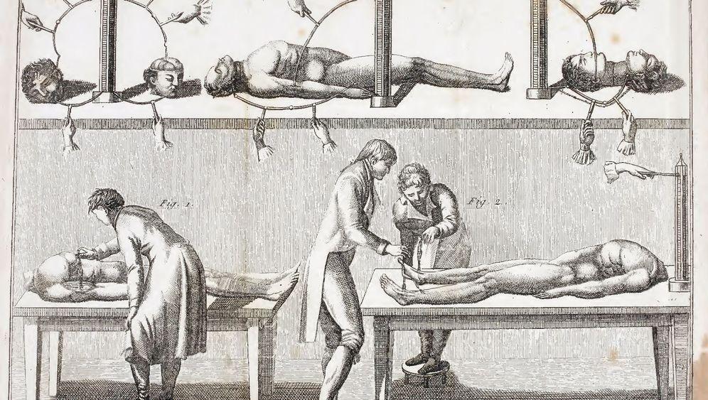Medizinische Elektroanwendungen: Ein kleines bisschen Horrorshow