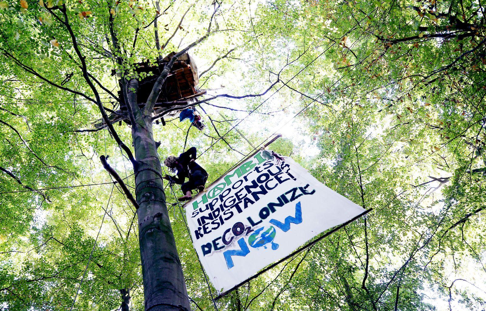 Aktivisten Hambacher Forst