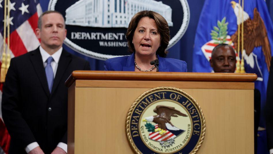 Lisa Monaco vom US-Justizministerium: Die US-Regierung will nun die Zahlungsströme der Erpresser attackieren