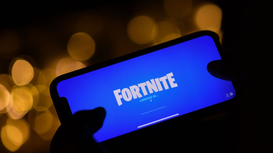 """""""Fortnite"""" auf einem iPhone - im Moment nur möglich, wenn man das Game schon installiert hatte, bevor der Streit eskalierte"""