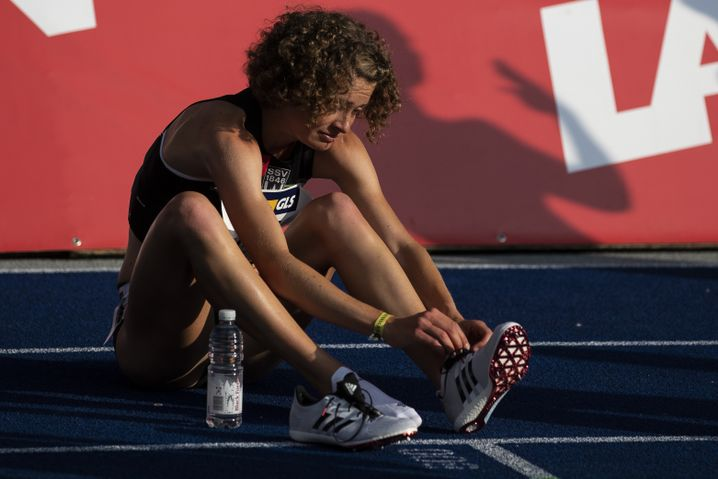 Alina Reh war in Berlin über 5000 Meter chancenlos