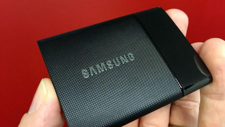 Samsung Portable SSD im Test: Superschneller Mini-Speicher