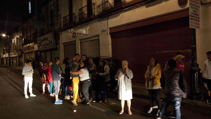 """Erdbeben in Mexiko: """"Die Lichter gingen aus"""""""