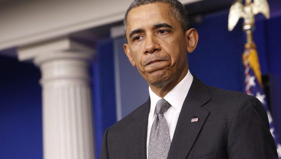 US-Präsident Obama: Verdächtiges Kuvert in der Post