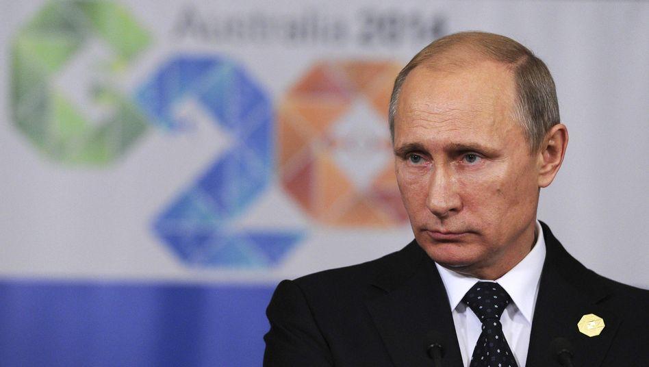Russischer Präsident Putin: Machtpolitik auf dem Balkan
