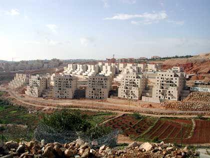 Bau in der Wüste: Betar Illit