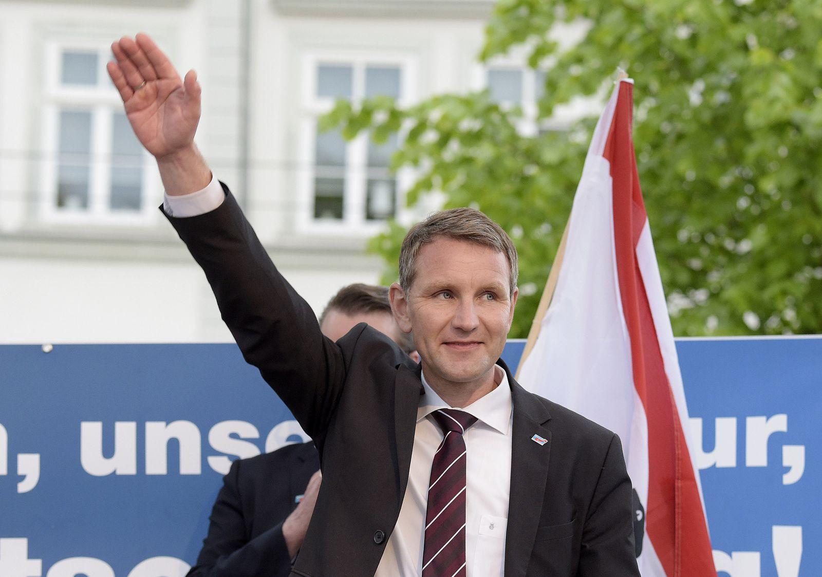 Björn Höcke Hitlergruss