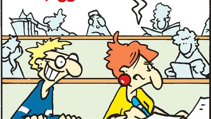 Comic von ©Tom: Die Olfaktorische Hormonbremse
