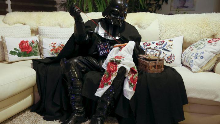"""""""Star Wars""""-Fan in Odessa: Herr Vader, der Spießer"""