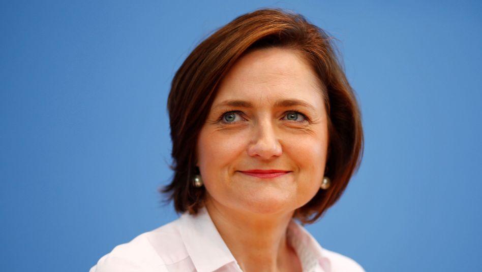 Flensburgs Oberbürgermeisterin Simone Lange: Im vergangenen Jahr unterlag sie Andrea Nahles im Kampf um die Parteispitze
