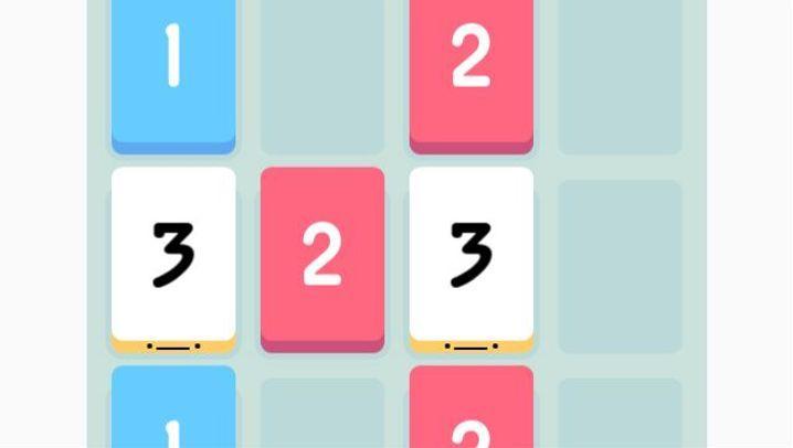 "Knobel-App: So sieht ""Threes"" aus"