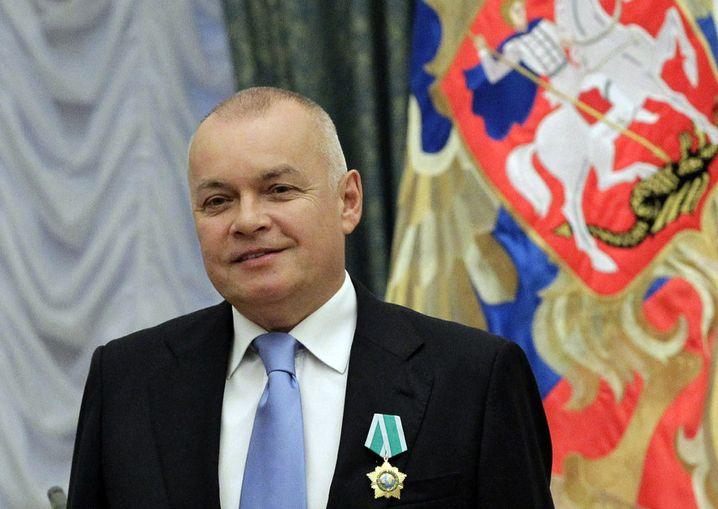 Moderator Dmitrij Kisseljow