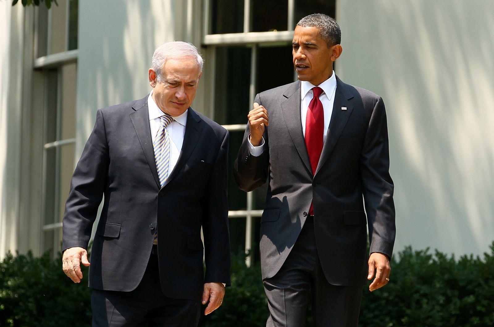 Obama Netanjahu