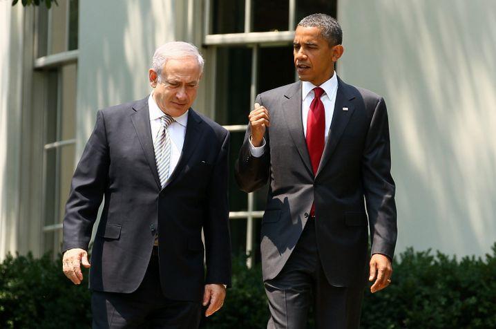 Juli 2010: Spaziergang vor dem Weißen Haus