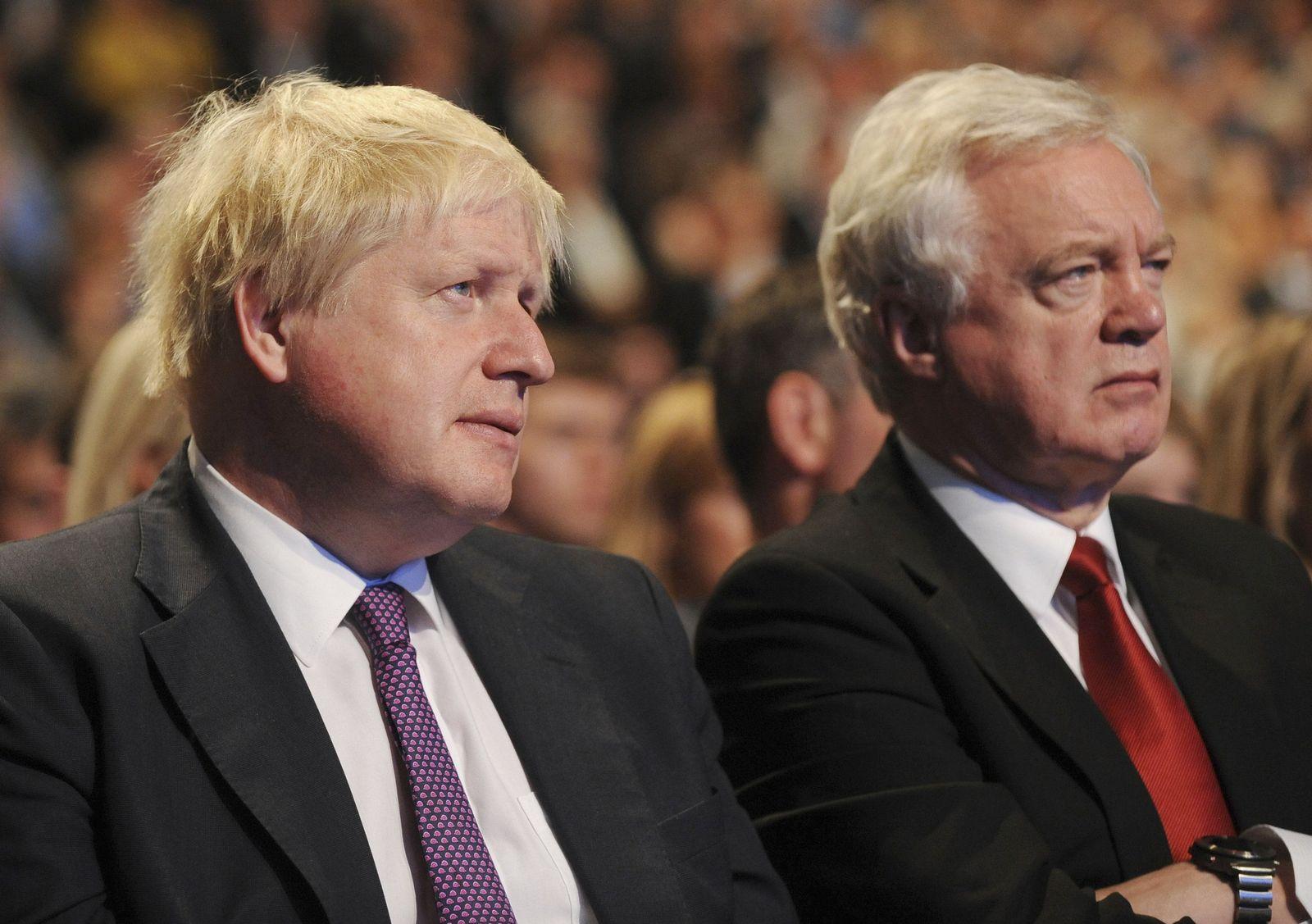 Boris Johnson, David Davies