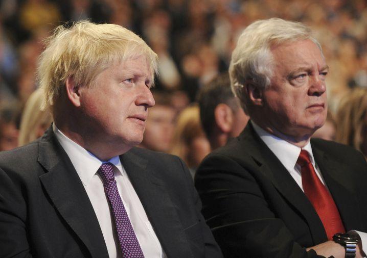 Minister Boris Johnson, David Davies