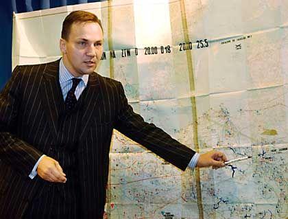 Polishdefense minister Radek Sikorski