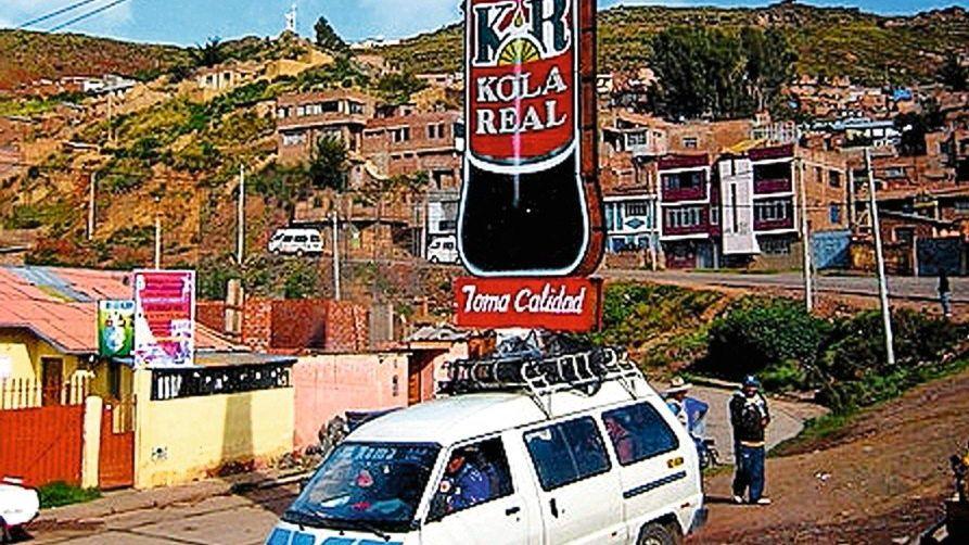 Kola-Real-Werbung in Peru: Unbekannter Volkskapitalismus