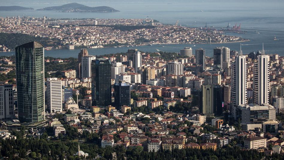 Skyline von Istanbul