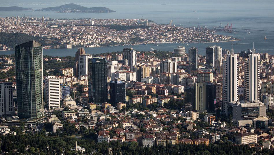Bankenviertel Istanbul