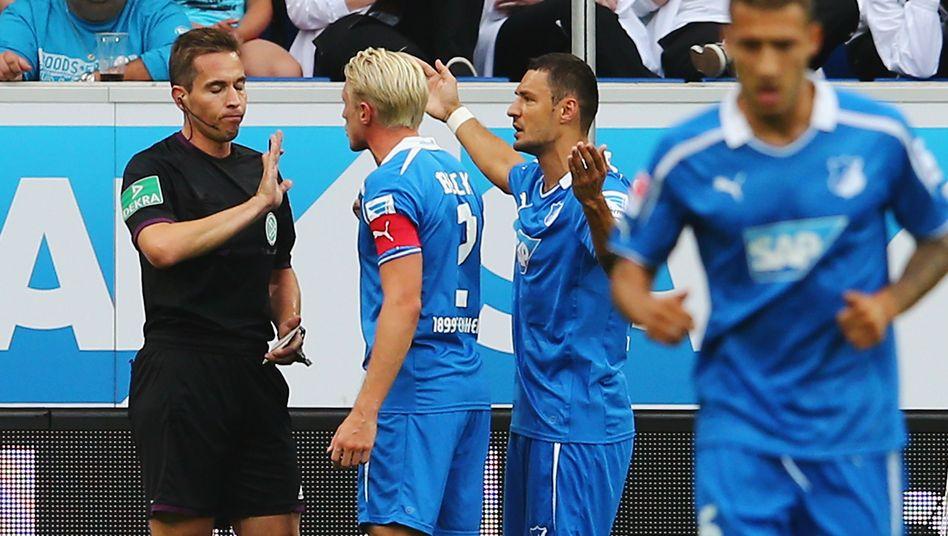 Hoffenheim-Profi Salihovic (2.v.r.): Drei Spiele Sperre für Ohrfeige