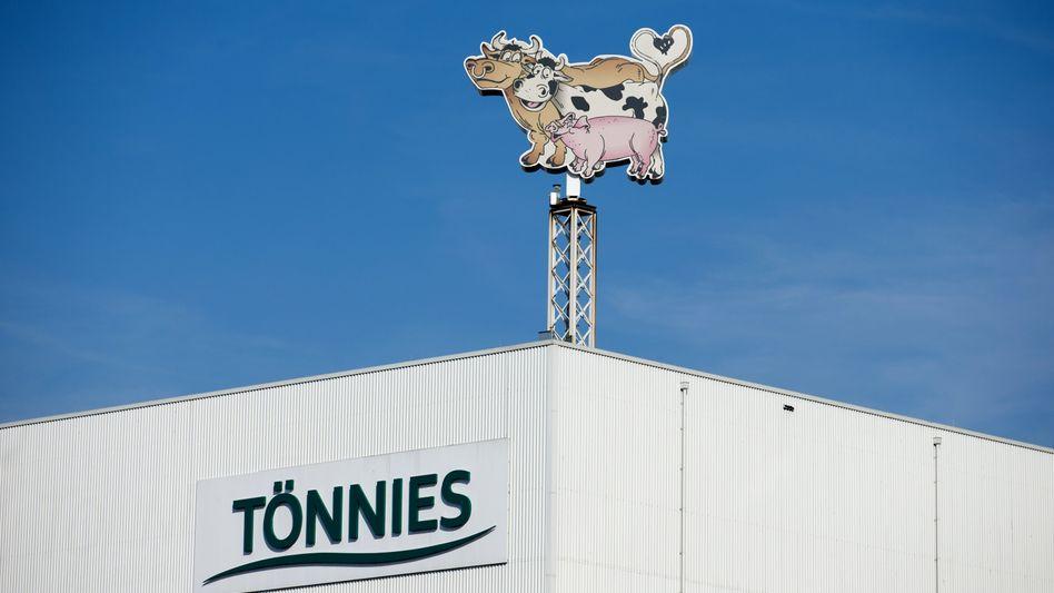 Tönnies-Schlachtbetrieb in Rheda-Wiedenbrück