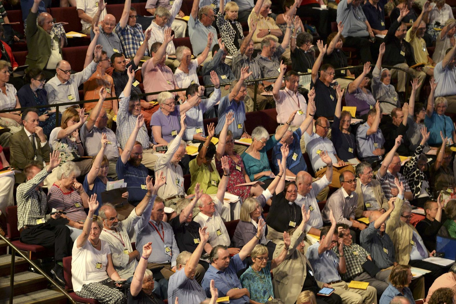 Anglikanische Kirche stimmt für Bischöfinnen
