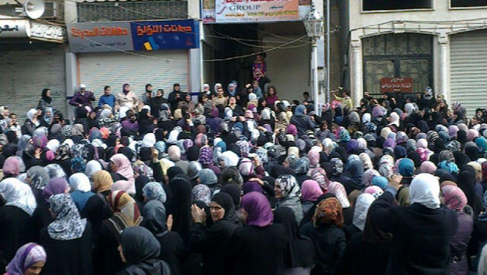 """Frauen-Protest in Syrien und Jemen: """"Wir wollen Freiheit"""""""
