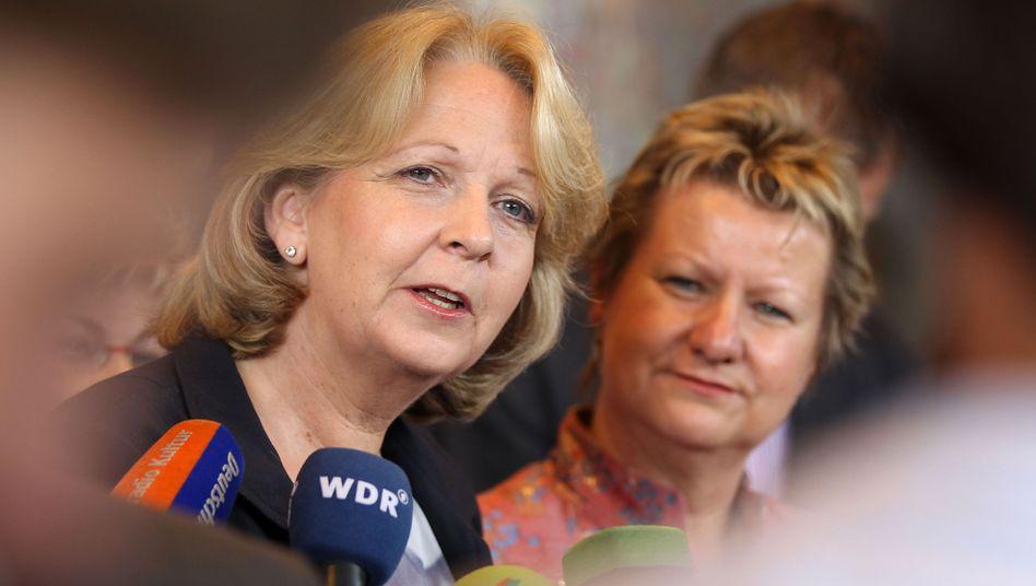 Koalitionäre Kraft, Löhrmann: Linke hoffen auf Rot-Rot-Grün